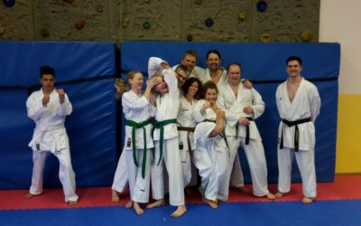 Kumite Trainingseinheit mit Umar Welt