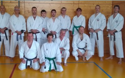 Seminar mit A.J. van Dijk, Chief Instructor Wadokai Holland
